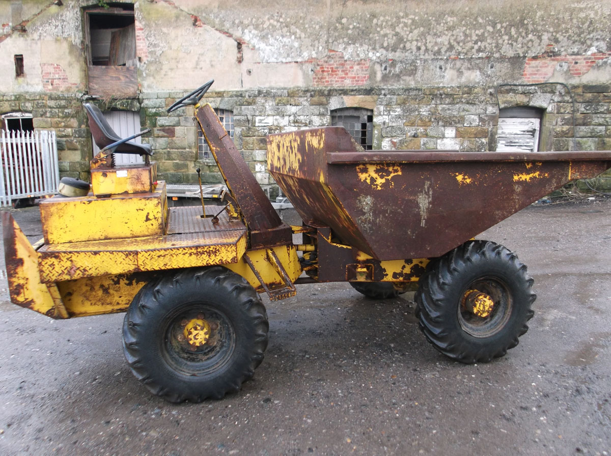 SOLD-Thwaites 7000 3 Ton Dumper -JD Services Southern