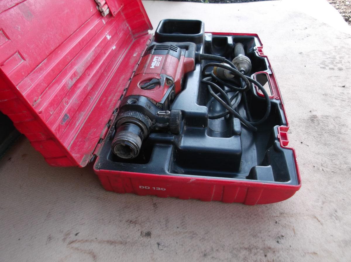 Core Drill Hilti DD 130 JD Services Southern